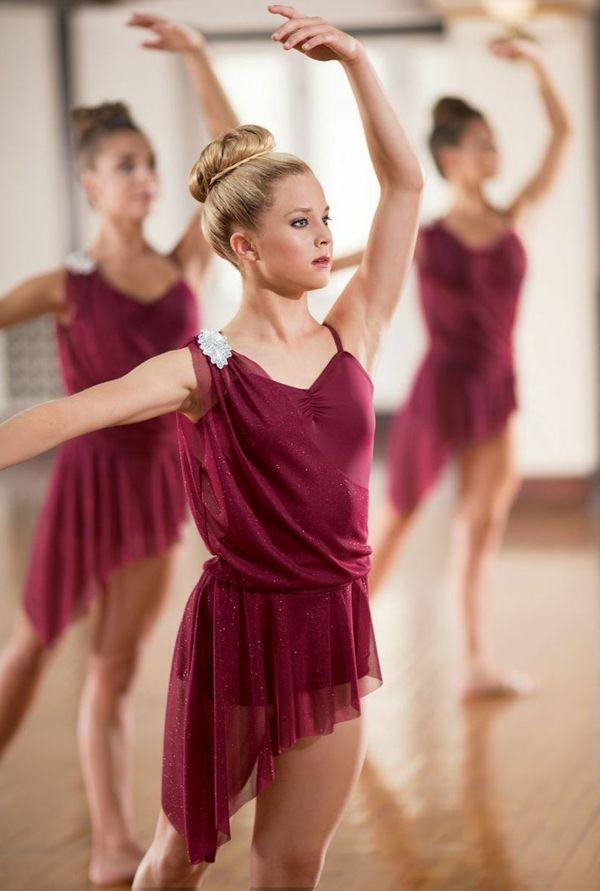 tenue de danse moderne, costumes scéniques pour ballerines