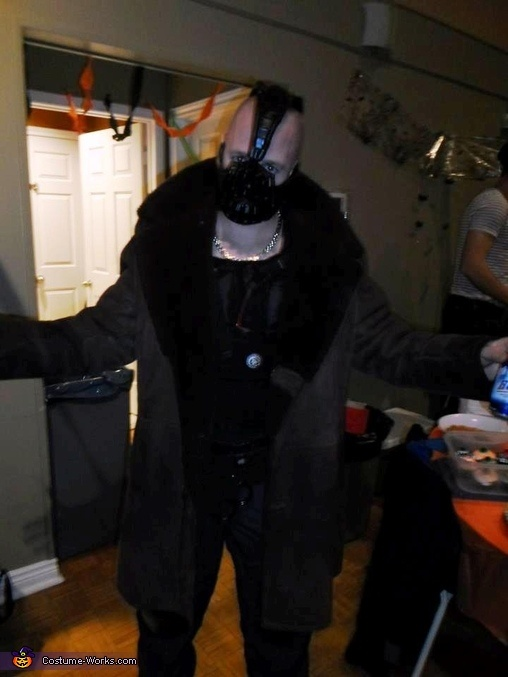 DIY Bane Full Costume