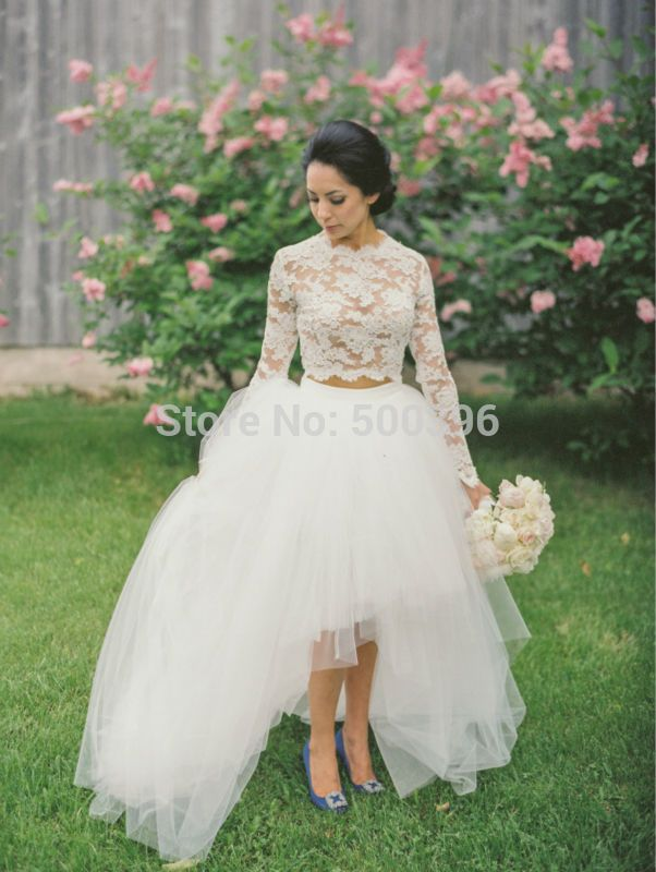 http://fashiongarments.biz/products/lovely-lace-two-pieces-asymmetrical-wedding-dress-o-neck-long-sleeve-brush-train-tulle-bridal-gown-nm-446/,      -Princess Bridal  100% handmade wedding gown   High qualtity with factory price wedding dress 2015   Fast delivery and good service   Custom made size and color bridal dresses   Lovely Lace Two Pieces Asymmetrical Wedding Dress O-neck Long Sleeve ...,   , fashion garments store with free shipping worldwide,   US $191.89, US $191.89…