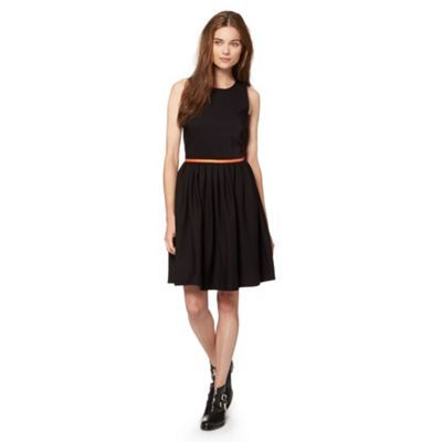 Preen/EDITION Designer black cut away skater dress- at Debenhams.ie