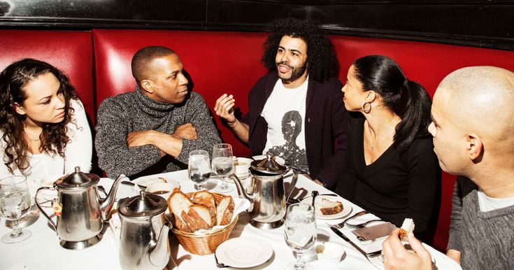 Talking with stars Leslie Odom Jr., Renée Elise Goldsberry, Daveed Diggs, Jasmine Cephas Jones, and Christopher Jackson.