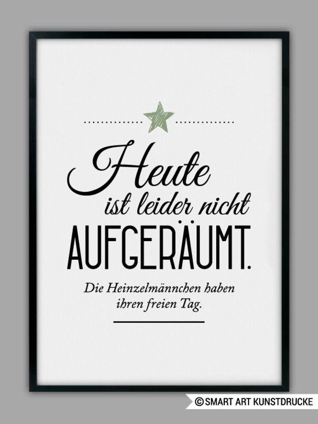 Kunstdruck als Wohndeko, Heinzelmännchen / art print for home decoration by SMART ART Kunstdruck via DaWanda.com