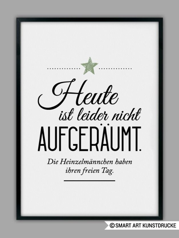Kunstdruck als Wohndeko, Heinzelmännchen / art print for home decoration by SMART ART Kunstdruck via DaWanda.com