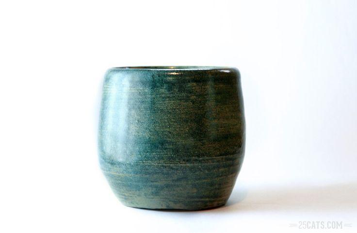 Antique blue vase
