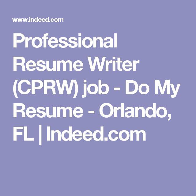 professional resume writer cprw job do my resume orlando fl - Certified Professional Resume Writer Cprw