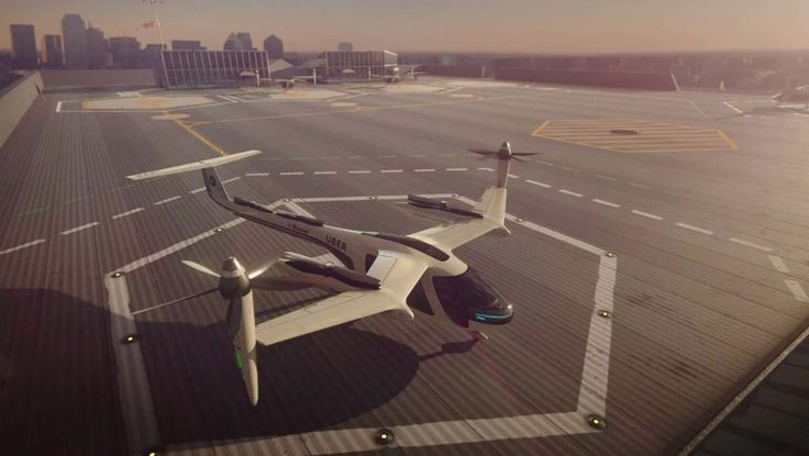 Uber and NASA Plan To Launch Passenger Flying Taxis