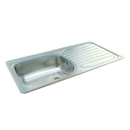 Kitchen Sinks Kilkenny Precision Plus 100 - This single bowl reversible has up to 40% discount when you shop for kitchen sinks online with Kitchens4u.ie