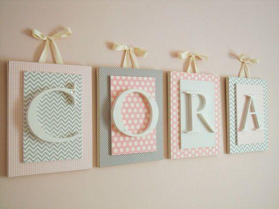 Best 20+ Nursery Letters Ideas On Pinterest