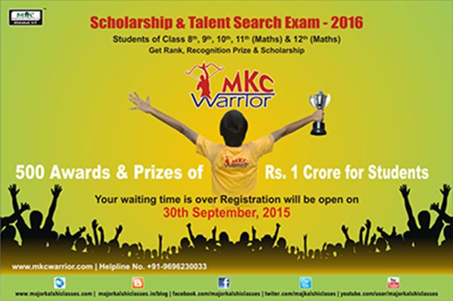 #MKC #WARRIOR Yehhh !!!  Great News for VIII, IX, X, XI & XII Miracles Students Now your waiting time is over !!! #Registration will be Open on 30 September 2015