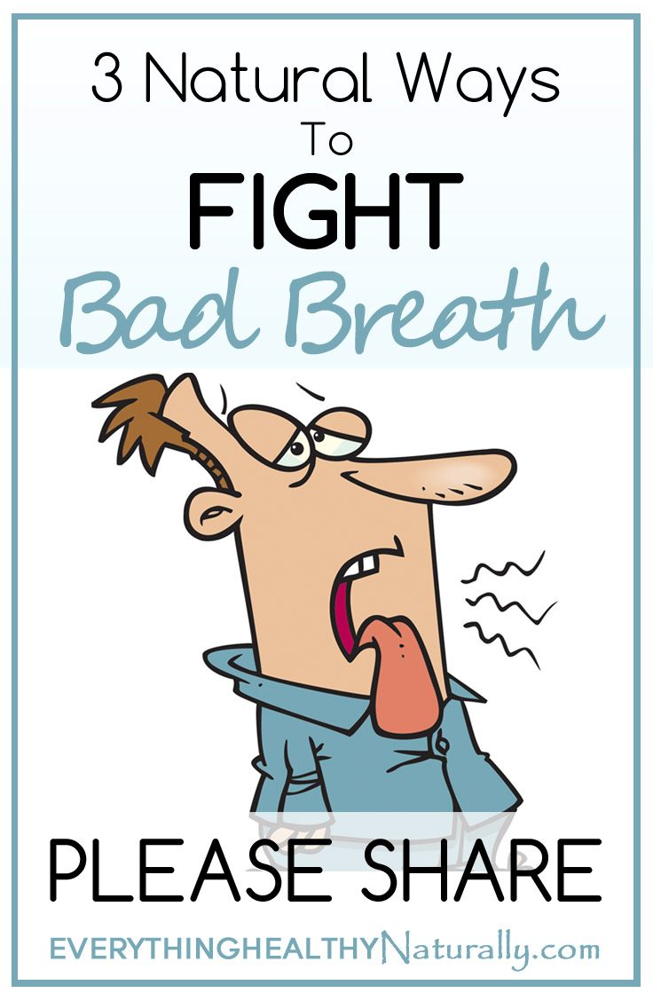 Ways To Fight Bad Breath Naturally