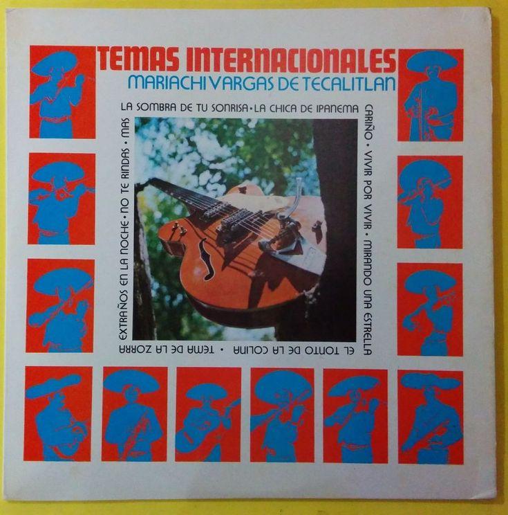 TEMAS INTERNACIONALES - MARIACHI VARGAS DE TECALITLAN - VENEZUELA ISSUE #Mariachi