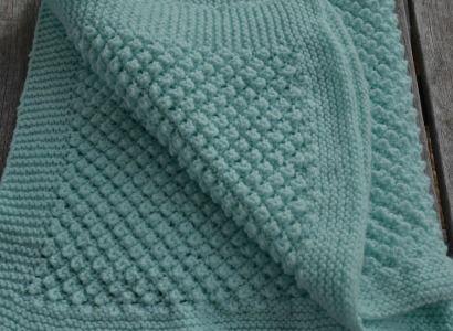 how to start knitting a blanket