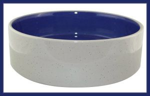 Ethical 9-1/2-Inch Stoneware Crock Dog Dish This bowl can be used for both cats and small  dogs. They are easy to clean and have a high   gloss finish http://theceramicchefknives.com/ceramic-pet-bowls/