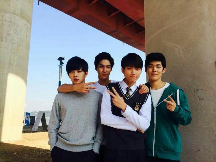 woohyun high school love on infinite pinterest high