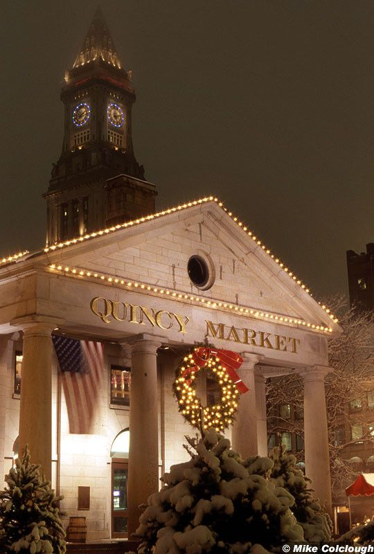 2 years ago, I was here at this lovely state in USA, Boston! I miss this place soooooo much! Time flies, Christmas is coming soon!  ` Quincy Market, Customs House Tower
