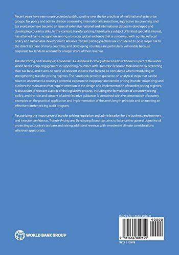 Transfer Pricing and Developing Economies: A Handbook for Policy Makers and Practitioners (Direction