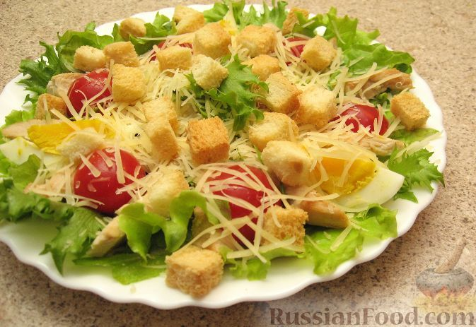 салат цезарь 30 рецептов