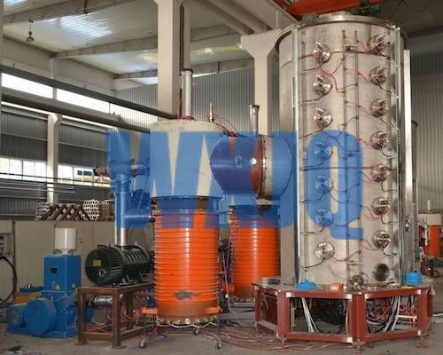 Plate Vacuum coating machine is also called multi-arc titanium coating machine, PVD (Physical Vapor Deposition) coating machine. We offer both arc and sputter deposition processes, which gives us the flexibility to tailor coating characteristics for a wide range of industrial-scale applications.