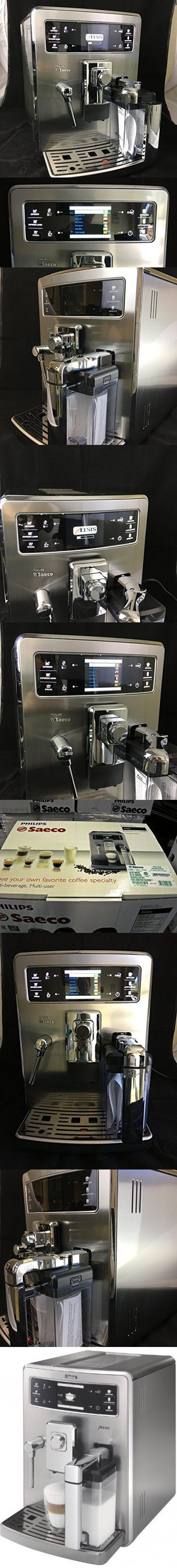 Philips Saeco HD8944/47 Xelsis Automatic Espresso Machine, Stainless Steel