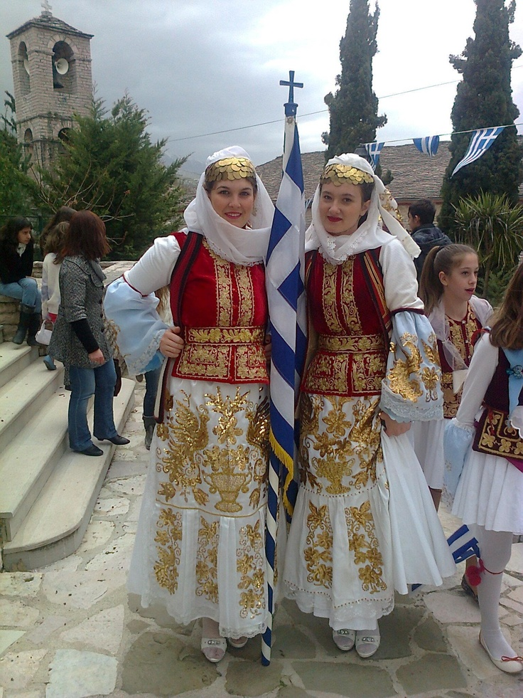 Traditional costumes of Northern Epirus - Greece (which is over the border in Albania)