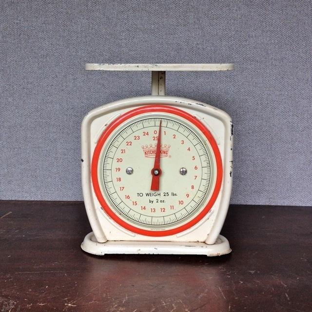 Image of Vintage Kitchen Scale; at NounVintage Kitchen