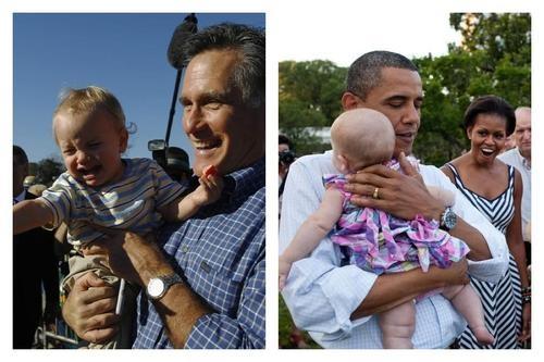 #rommey vs #obama