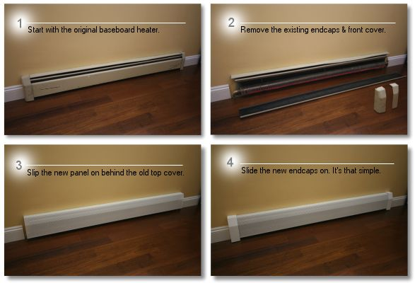 Easy To Install Baseboard Heater Covers Baseboard Heater Heater Cover