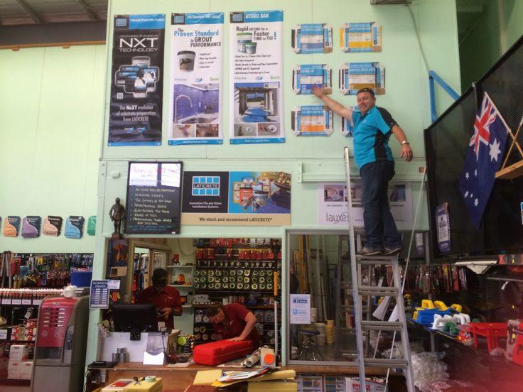 Laticrete Australia Conversations: New Look - Tilers Trade Shop
