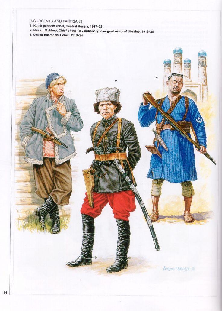 152 best Russian Civil War 1917-1922 images on Pinterest ... Пулеметная Тачанка