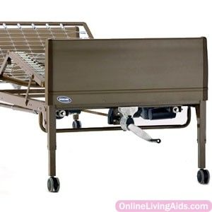 """Invacare - BED32-1633 - Semi-Electric Bed Package, 9-1/2"""" - 20"""" Bed Height"""