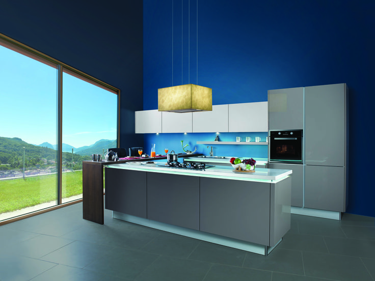 sleek modular kitchens the kitchen specialist. Black Bedroom Furniture Sets. Home Design Ideas