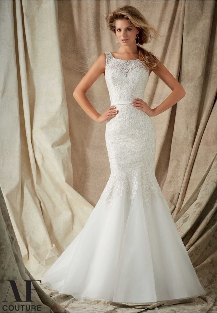 low cost wedding dresses in atlantga%0A Bridal Gowns By AF Couture featuring Intricate Embroidery with Crystal  Beading on Net Trimmed with a