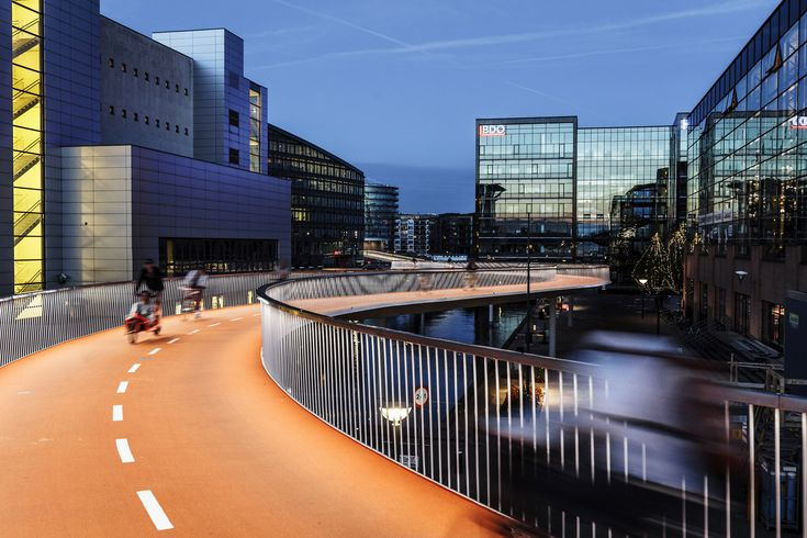 Cykelslangen, designed by DISSING+WEITLING, has won a 2015 Architizer A+ Award in the category: Transportation: Highways & Bridges