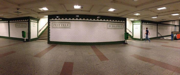 Metro tra Buda e Pest