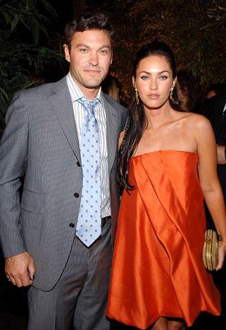 Brian Austin Green, 34, and actress Megan Fox, 21, (at Maxim's 8th Annual Hot 100 Party May 16, 2007)