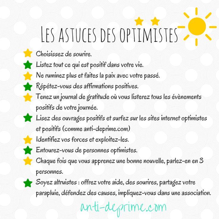 Les trucs des optimistes