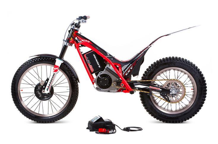 Gas Gas TXTE Electric trials bike