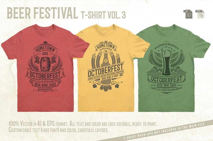 Image of Beer Festival T-Shirt Vol. 3
