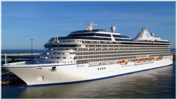 Maiden Voyage of Cruise Ship Riviera to Rhodes - 02 August 2012 - Guide2Rhodes News