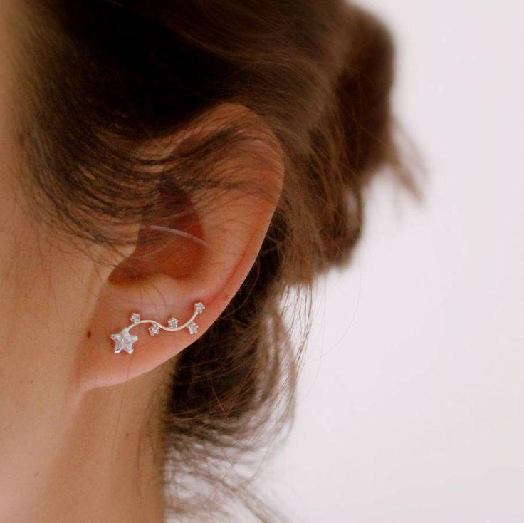 Sterling Silver Constellation Earrings