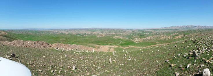 This is the landscape in northern Iraq.  I spent some time helping out.