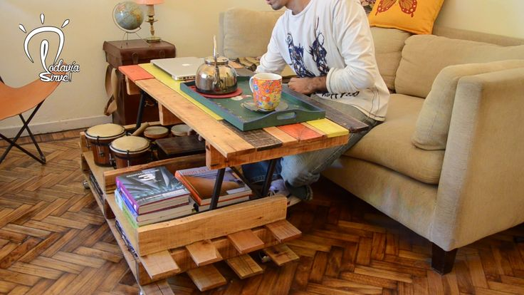 Modular Pallet Coffee Table
