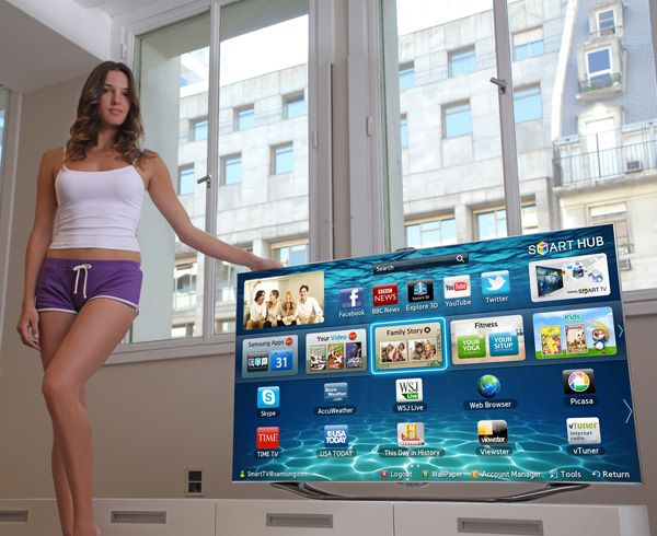 The New Samsung Smart TV - Samsung's 2012 Smart TV is part of the next-generation of televisions hitting the market, which are entirely interactive. Smart TVs feature Smart Interaction, Smart Content and Smart Evolution.