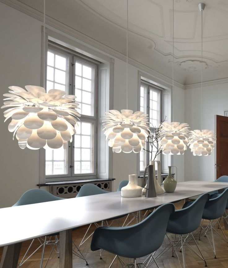 Scandinavian Pendant Lighting Danish Designed Flower D