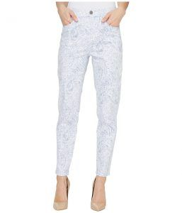 FDJ French Dressing Jeans French Paisley Suzanne Slim Ankle in Blue (Blue) Women's Jeans