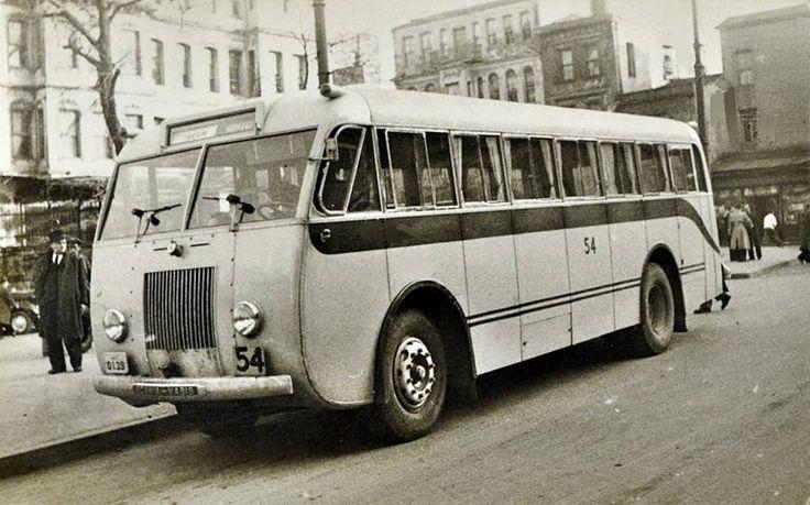 Taksim - Sirkeci otobüsü (1950'ler)