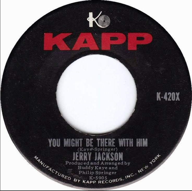 Jerry Jackson - You might be there with him