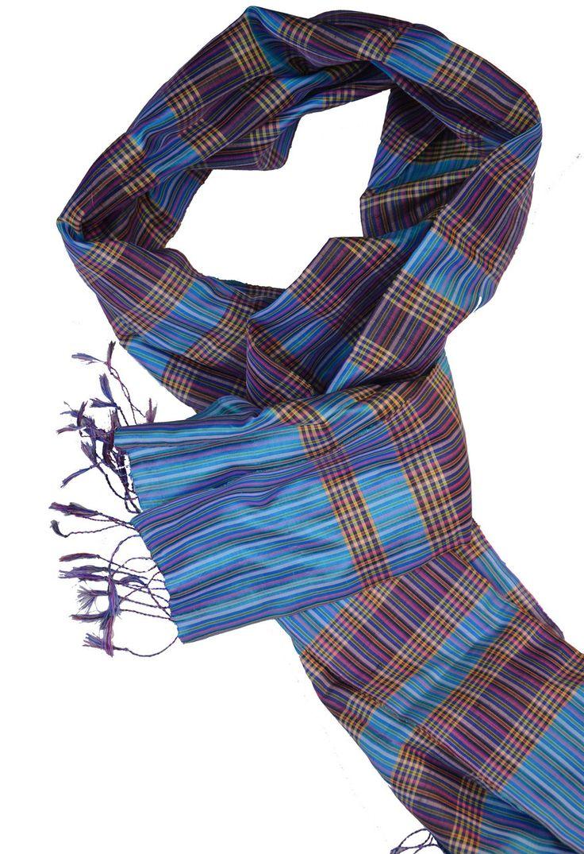Sreyneang - Scarves from Cambodia - Handmade Silk Scarf from Cambodia (KRFS109), £39.90 (http://www.sreyneang.co.uk/handmade-silk-scarf-from-cambodia-krfs109/)