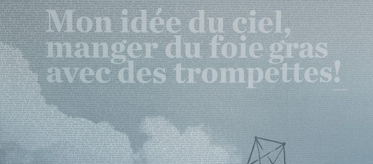 LEMAYMICHAUD | CIEL | Québec | Architecture | Design | Restaurant | Eatery | Hospitality | Bistro | Bar | Natural light | View | Sky | Graphic Design | Signage