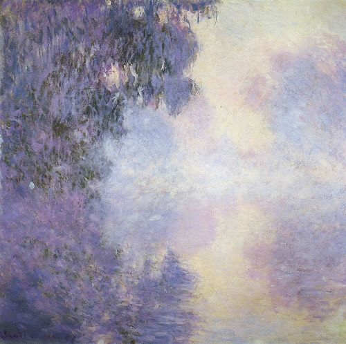 Arm of the Seine near Giverny in the Fog (1897) | Claude Monet